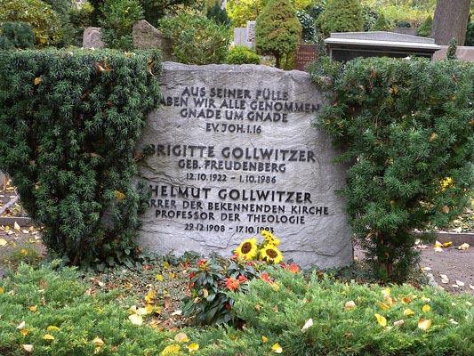 Grab von Helmut und Brigitte Gollwitzer