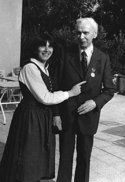 Wilhelm Gollwitzer mit Bundesverdienstkreuz