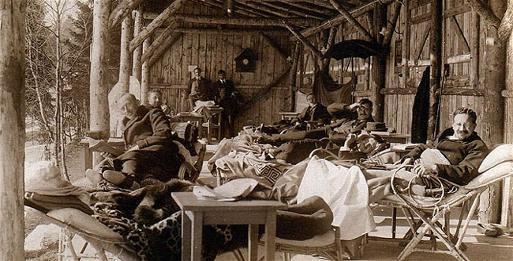 Sanatorium am Hausstein Waldliegehuette