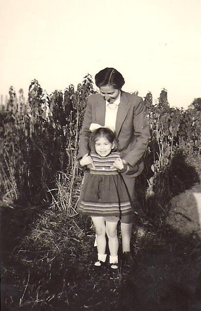 Ilse Friedeberg mit Friederike Gollwitzer